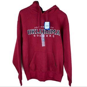 Oklahoma Sooners OU Red Hoodie Sweatshirt Medium